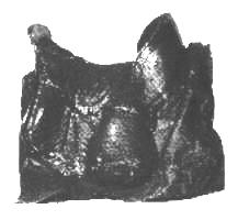 circa 1549 extant saddle