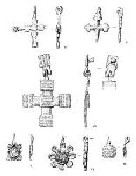 sketches of metal ornaments