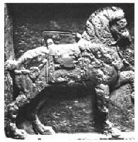 Roman 4-horned saddle
