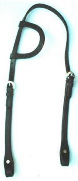 photo of modern western one ear bridle