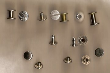 various chicago screws and rivets