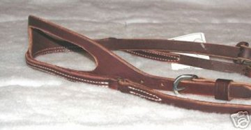 photo of modern western split one ear bridle