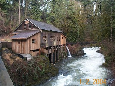 photo of the Grist Mill in Woodland Washington
