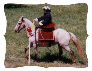 photo of me on sidesaddle